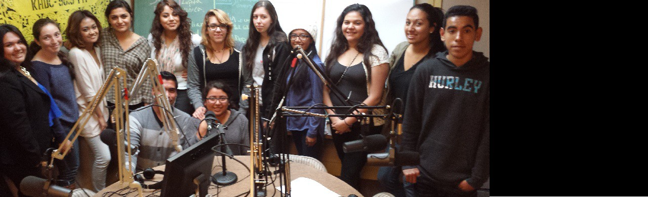 GHGH Youth leaders speak @Radio Bilingue