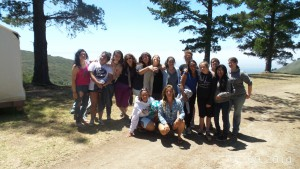 GHGH Big Sur Land Trust Camp Participants 2015